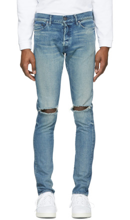 John Elliott - Blue 'The Cast 2' Jeans