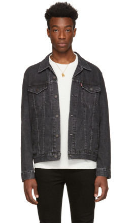 Levi's - Grey Denim Trucker Jacket