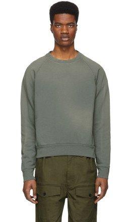 John Elliott - Navy Sundrenched Sweatshirt