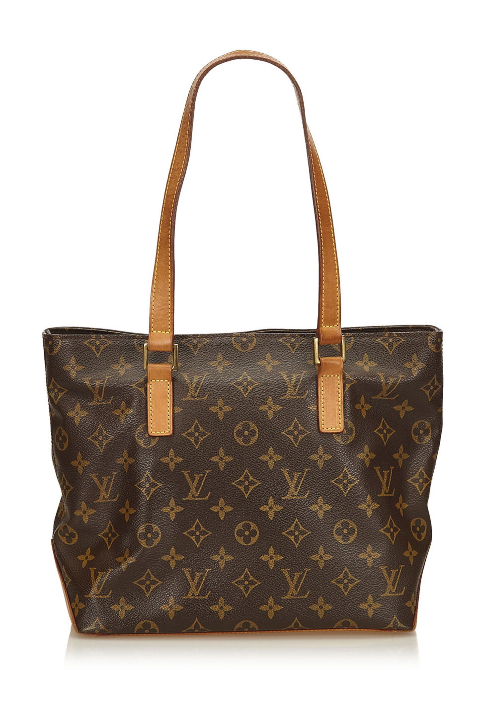 Louis Vuitton Monogram Cabas Piano in Brown