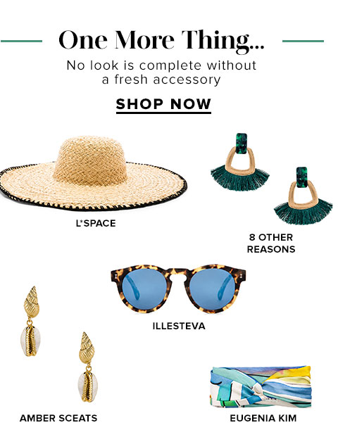 One More Thing... Shop Accessories