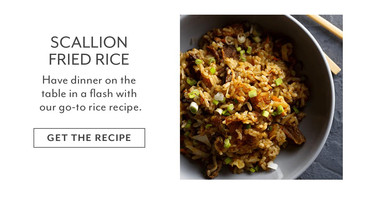 Recipe - Scallion Fried Rice