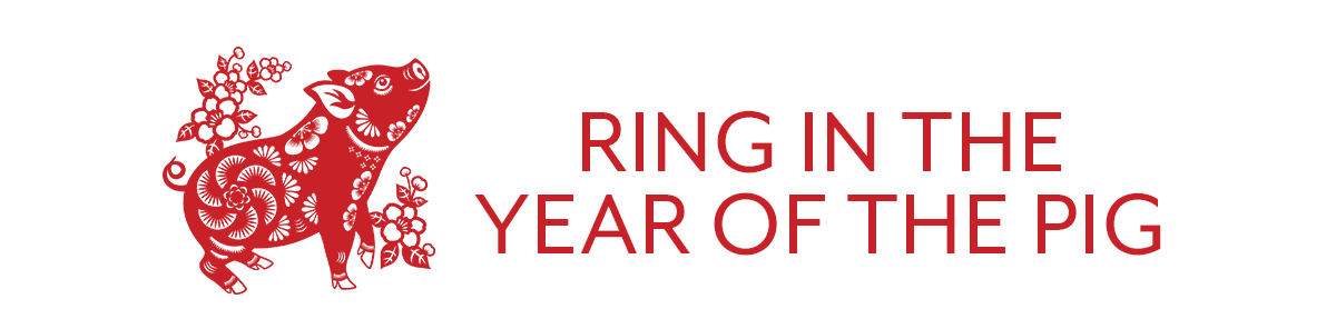 Ring in the Year of the Pig