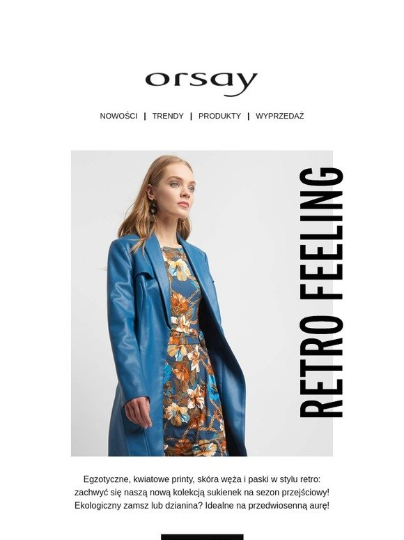 4d26a4839b Orsay  Te sukienki przyciągną Twoją uwagę!