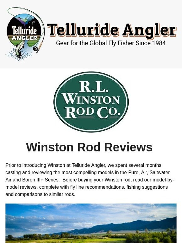 4fd0927c Telluride Angler: Winston Rod Reviews: Pure, Air, Boron III+, Saltwater Air    Milled