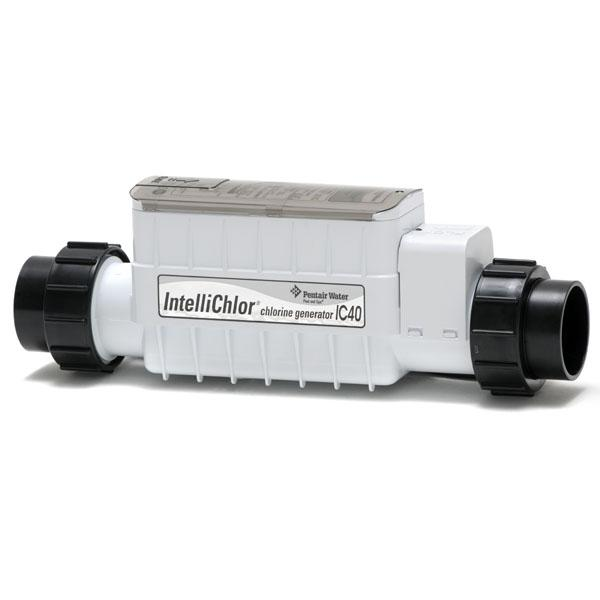 Pentair IC40 IntelliChlor Salt Cell, 40k Gallon Pools, 520555