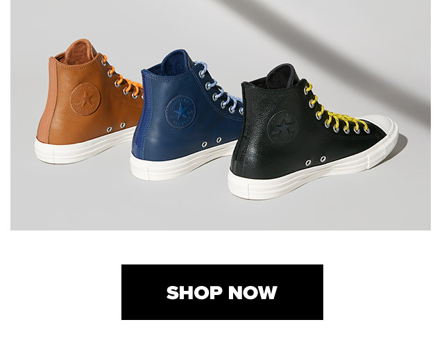 Shop Now: Chuck Taylor All Star Limo Leather High Top