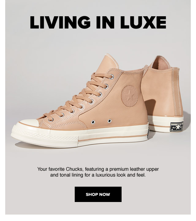 Shop Now: Living in Luxe
