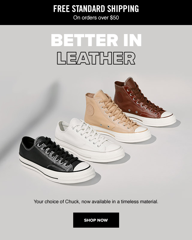 Shop Now: Better in Leather