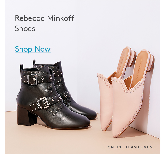 Rebecca Minkoff Shoes | Shop Now | Online Flash Event