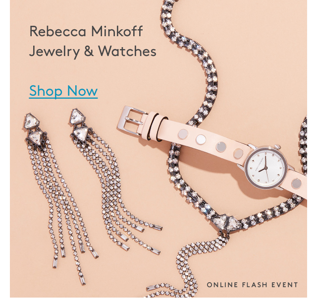 Rebecca Minkoff Jewelry & Watches | Shop Now | Online Flash Event