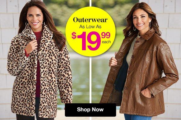 Shop Women's Outerwear!