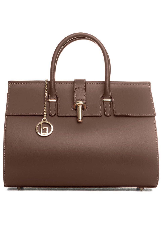 Secchia Handbag in Brown