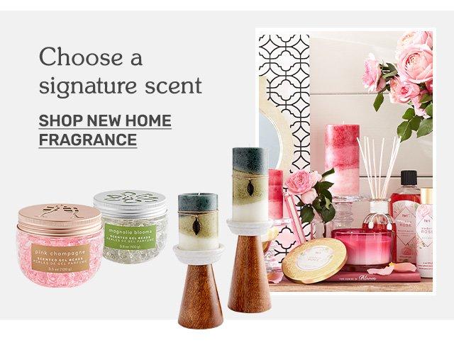 Shop new home fragrances.