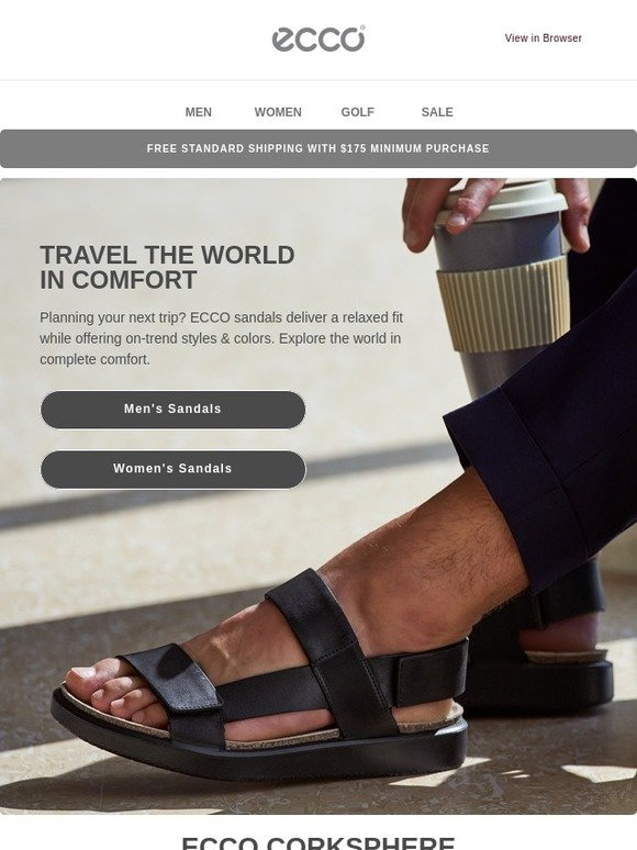 8164eb9901 ECCO USA SHOES: Meet your new travel companions | Milled
