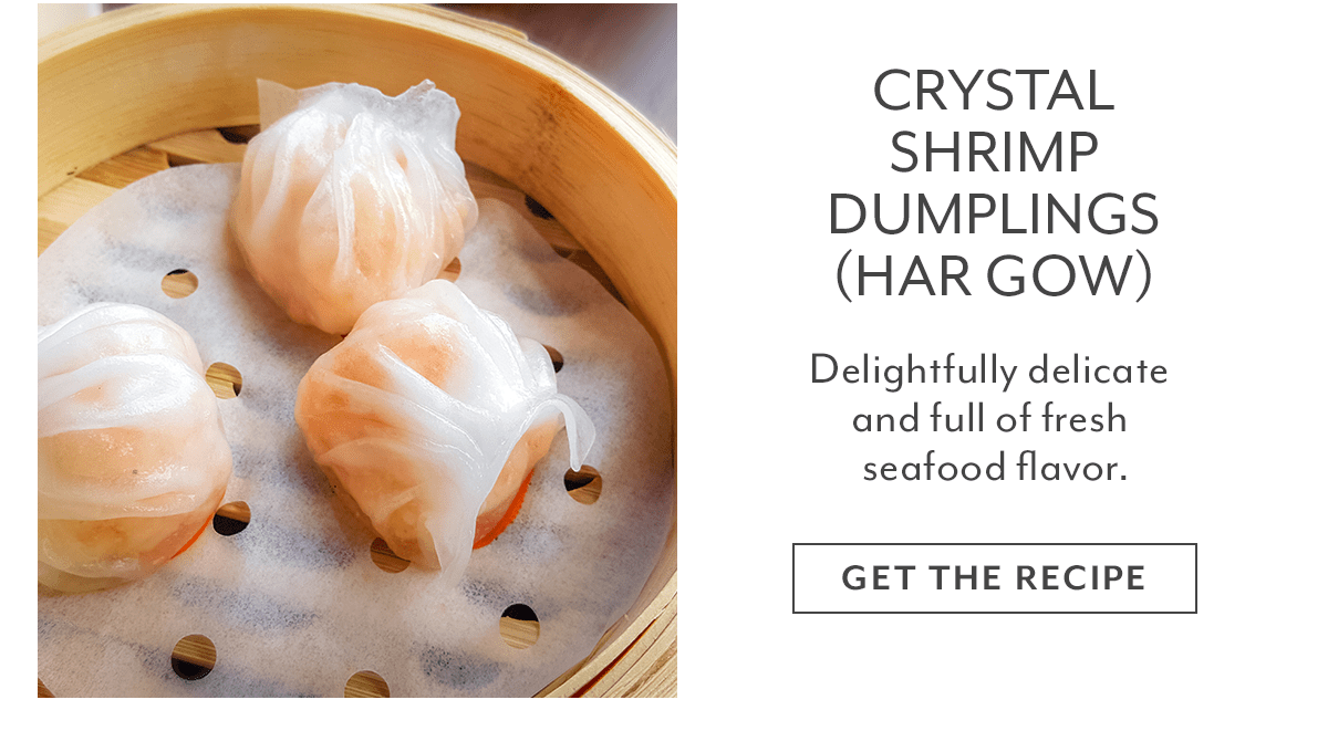 Recipe - Crystal Shrimp Dumplings (Har Gow)