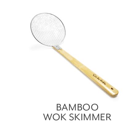 Bamboo Wok Skimmer