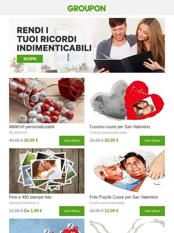 Groupon It Personalizza I Tuoi Regali Milled