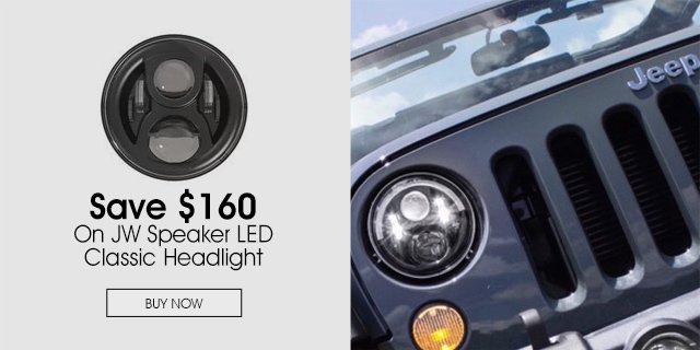 Save $160 On JW Speaker LED Classic Headlight