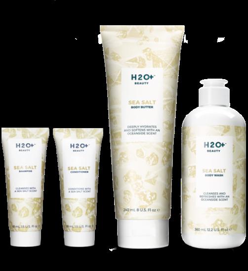 H2O+ Beauty Winter Escape Sea Salt Body Care