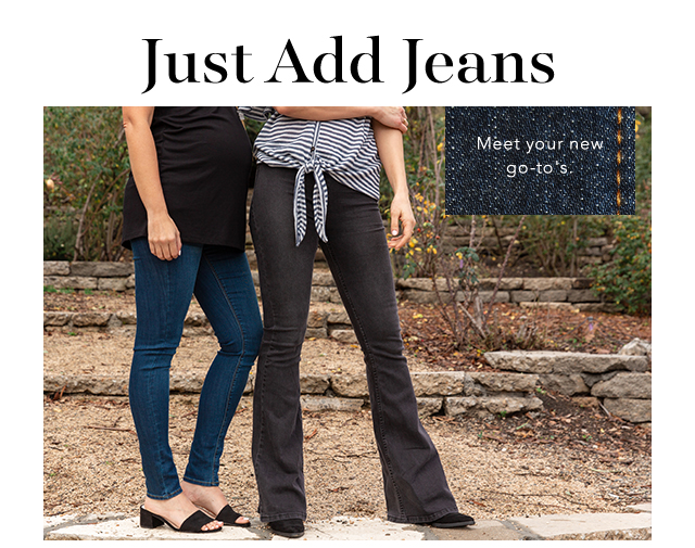 Just Add Jeans