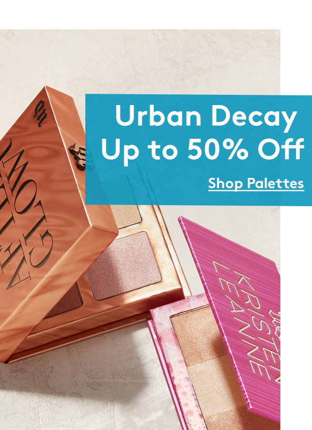 Urban Decay Up to 50% Off | Shop Palettes