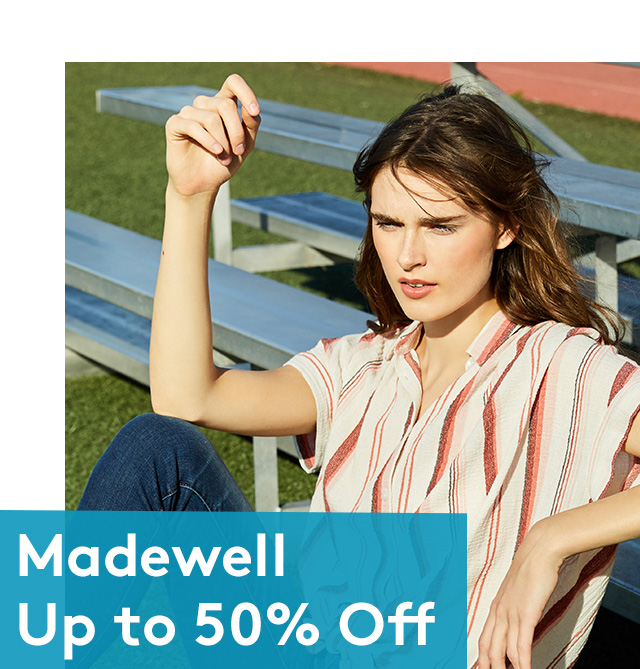 Madewell Up to 50% Off