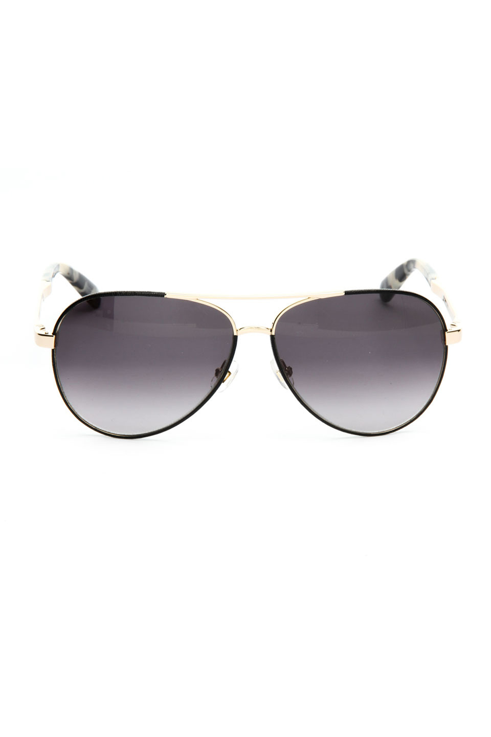 Kate Spade Ladies Sunglasses in Black and Gold