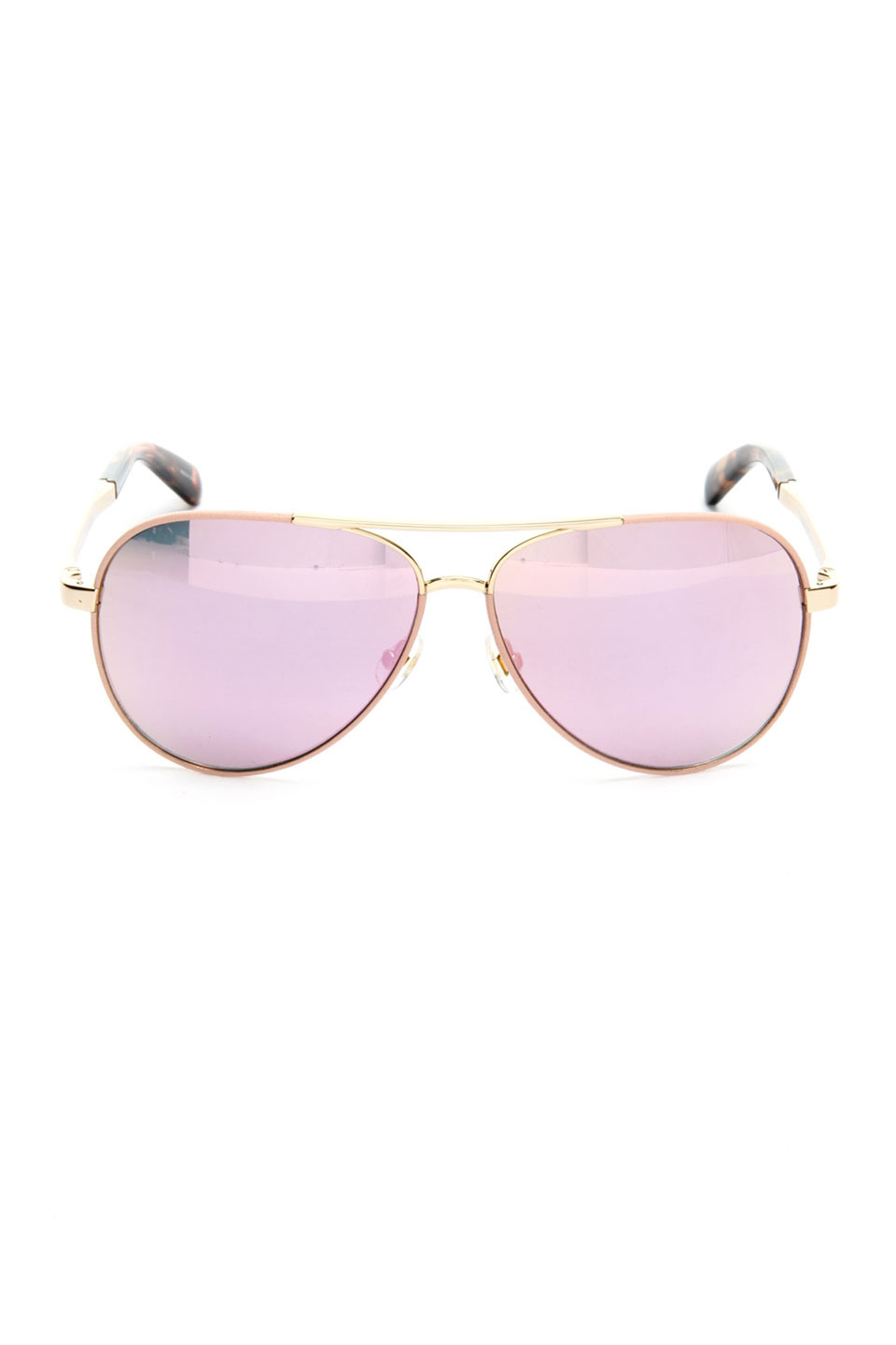 Kate Spade Ladies Sunglasses in Gold and Pink