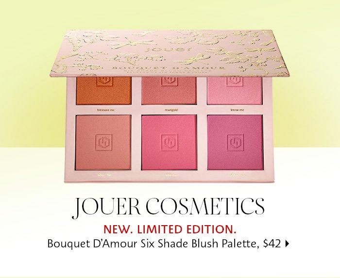 Jouer Cosmetics - Bouquet D'Amour Six Shade Blush Palette