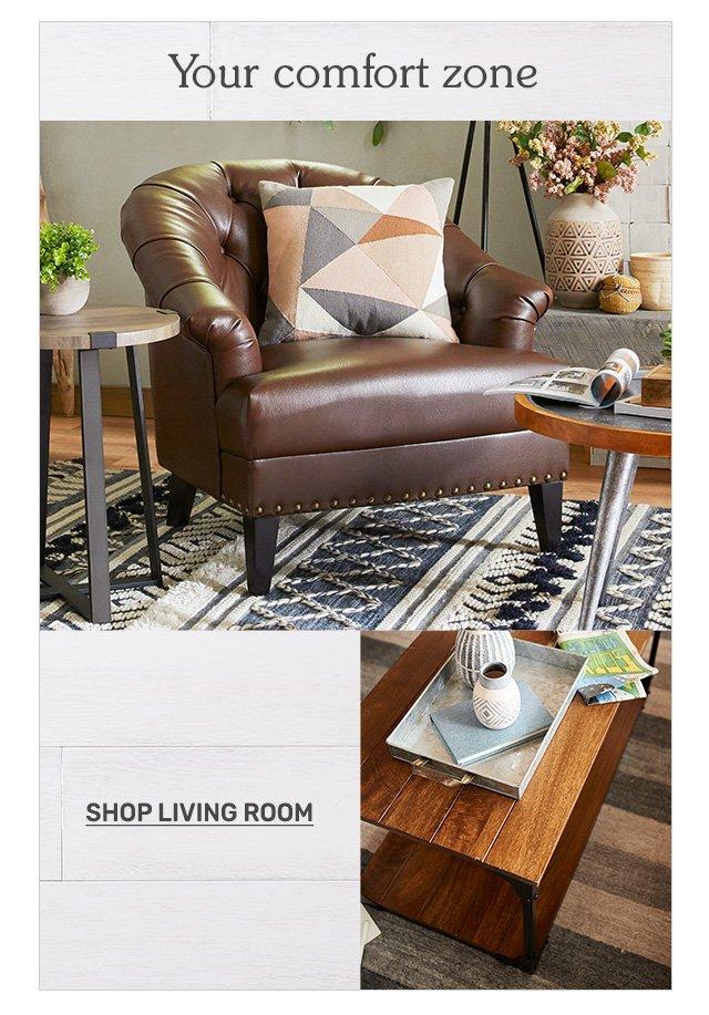 Shop living room.