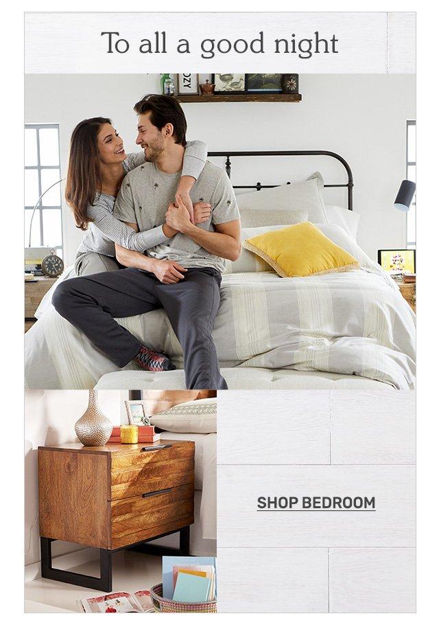 Shop bedroom.