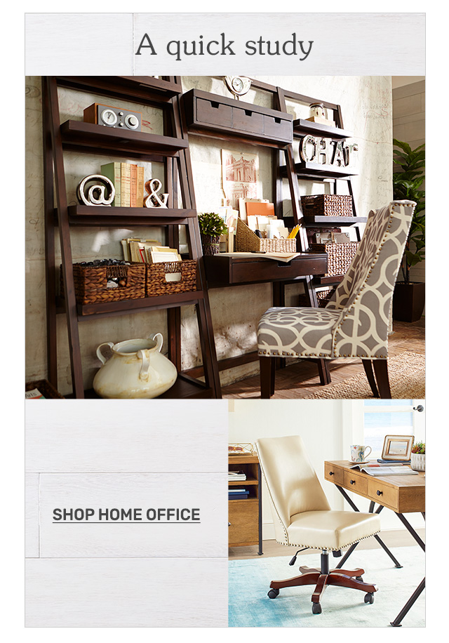 Shop home office.