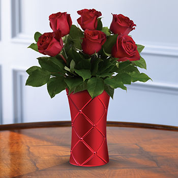 Teleflora's Crimson Luxury Bouquet