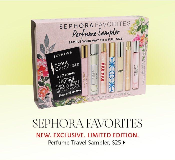 Sephora Favorites Kits - Perfume Travel Sampler