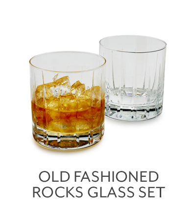 Old Fashioned Rocks Glass Set