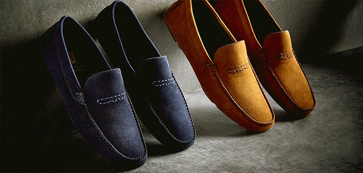 Suede Drivers & More All-Season Shoes