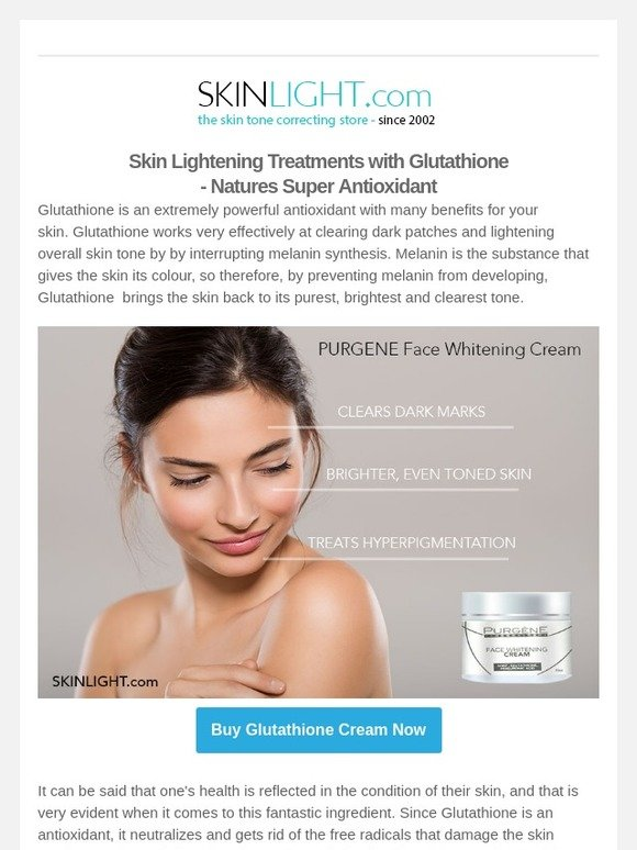 SKINLIGHT: Skin Lightening Secret - Glutathione  Natures
