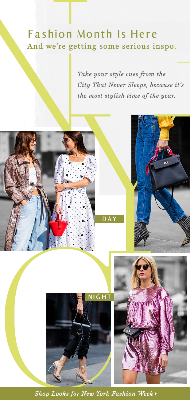 NYC Fashion Week Style. BIG 🍎 MOOD.