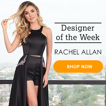 2de9e3e41654 This simple and chic prom dress 6464 by Rachel Allan is available in  vibrant shades that will look stunning in all your prom pictures.