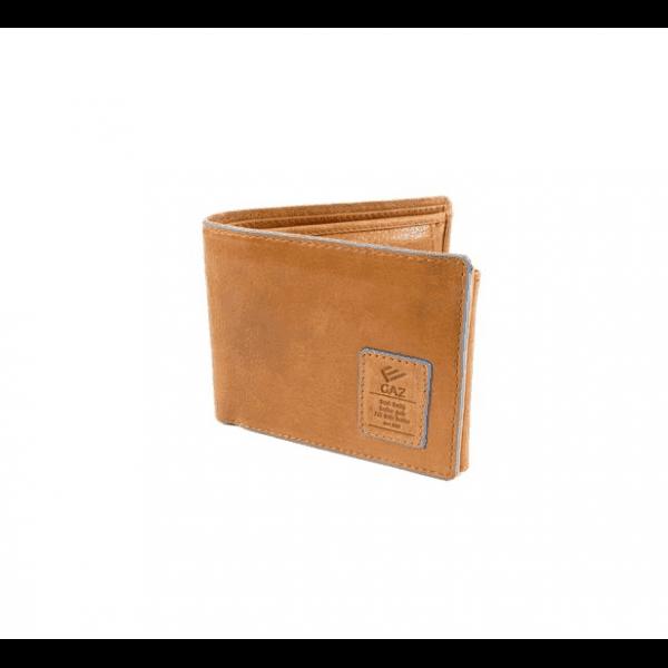 c7177367a64 Heren portemonnee RFID Bilfold laag - Cognac