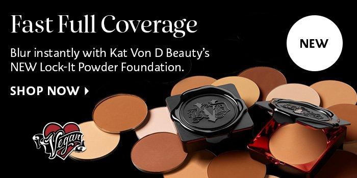 Kat Von D Lock-It Powder Foundation