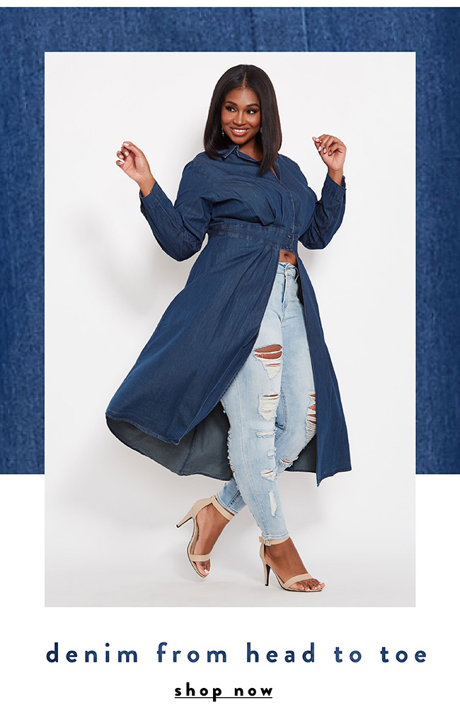 Denim from head to toe - Shop Now