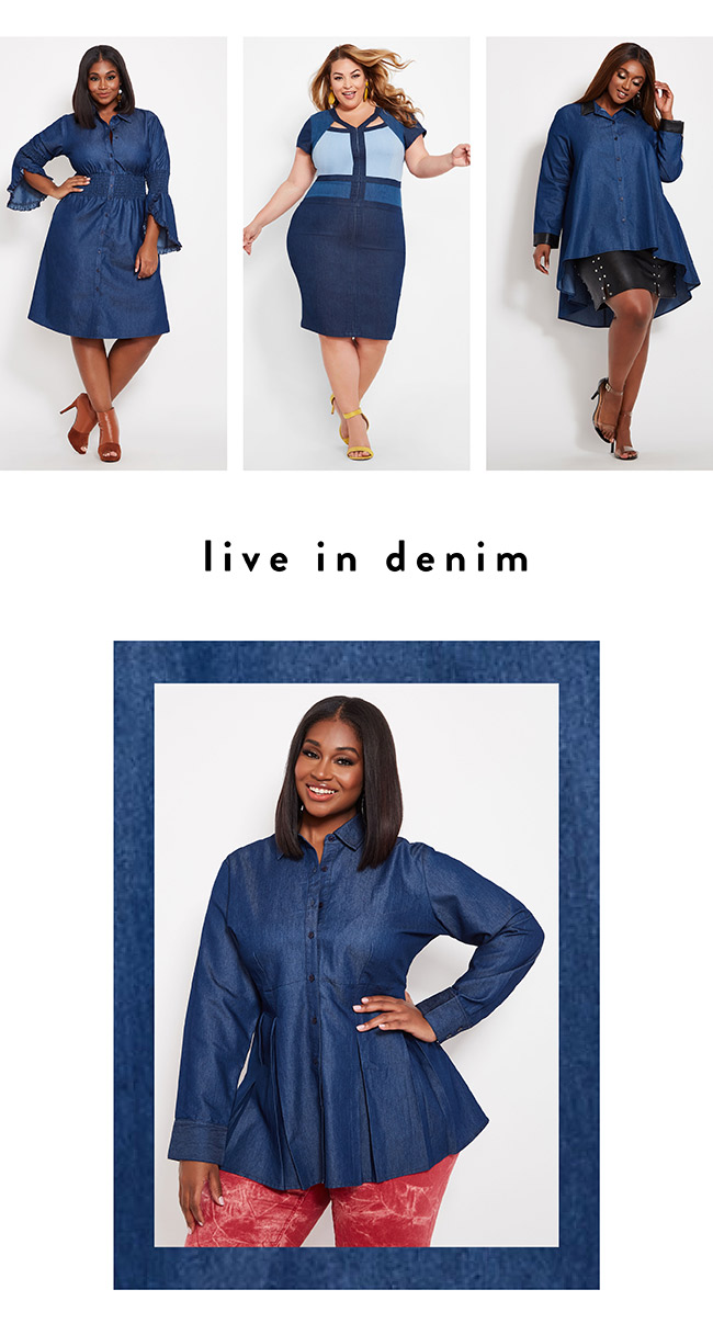 Live in Denim - Shop Now