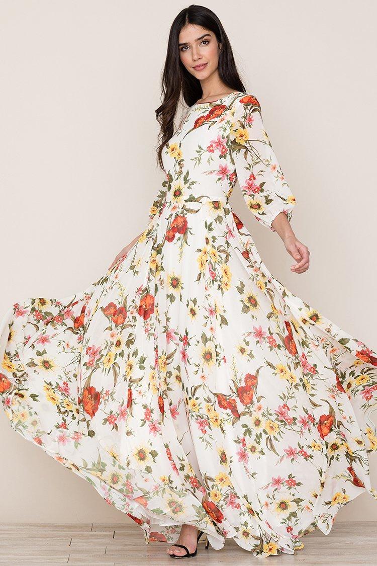 Image of Woodstock Maxi Dress