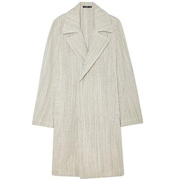 Bassike Textured Linen Trench Coat $995