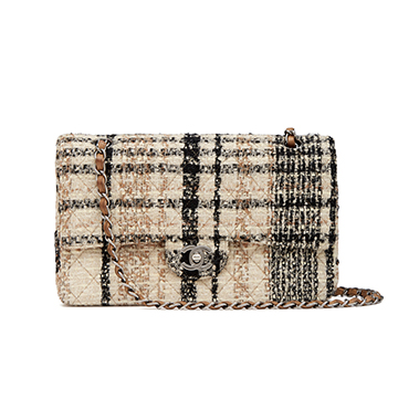 """What Goes Around Comes Around Chanel Multi Tweed Bag 2.55 10"""" $5,750"""