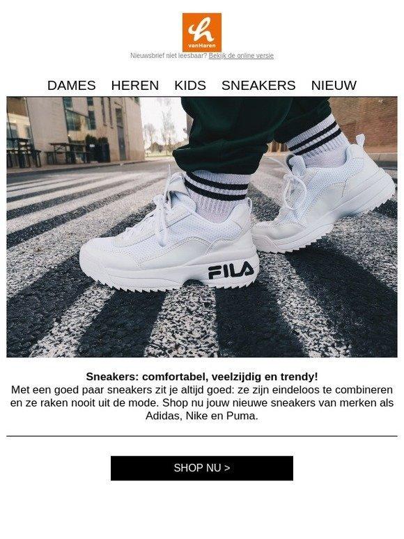 618c126d1b9 vanHaren : Deze sneaker styles mogen niet ontbreken in je collectie! |  Milled