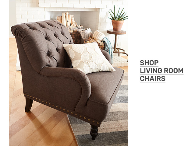 Shop living room chairs.