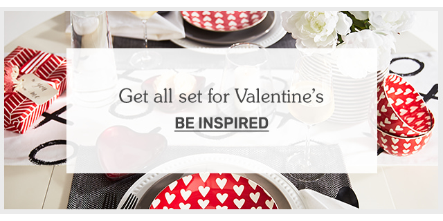 Get inspired for Valentine's Day